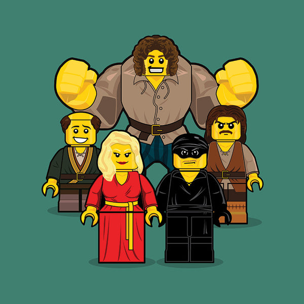 """LEGO Group 3 Princess Bride"" by Dan Shearn - Hero Complex Gallery"