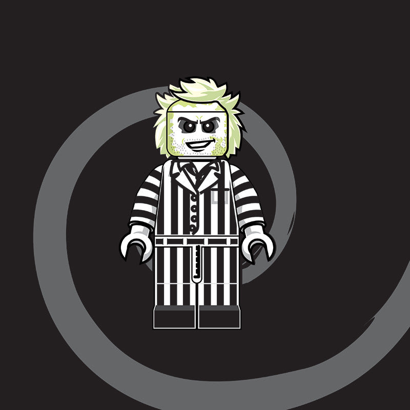 """LEGO Beetlejuice"" by Dan Shearn - Hero Complex Gallery"