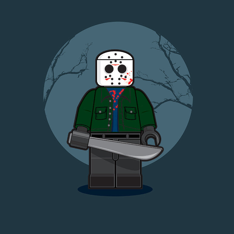 """LEGO Jason"" by Dan Shearn - Hero Complex Gallery"