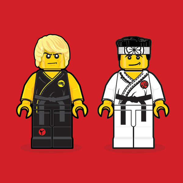 """LEGO Karate Kid"" by Dan Shearn - Hero Complex Gallery"