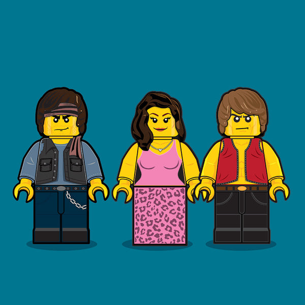 """LEGO Warriors"" by Dan Shearn - Hero Complex Gallery"