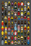"""LEGO Memories Compilation"" Large by Dan Shearn - Hero Complex Gallery"