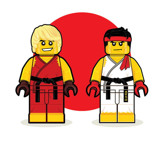 """LEGO Ken Ryu"" by Dan Shearn - Hero Complex Gallery"