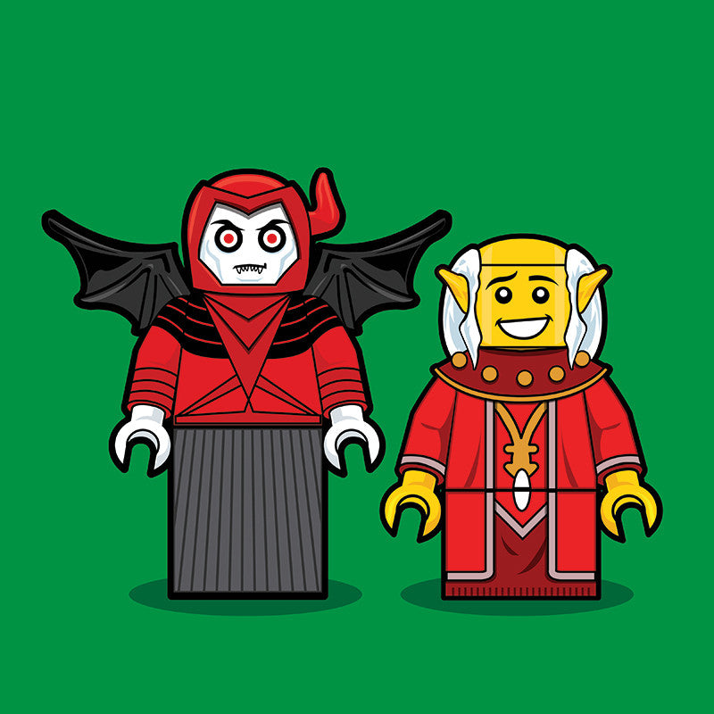 """LEGO D&D"" by Dan Shearn - Hero Complex Gallery"