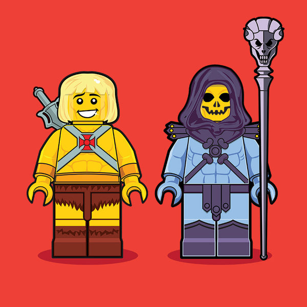 """LEGO MOTU"" by Dan Shearn - Hero Complex Gallery"
