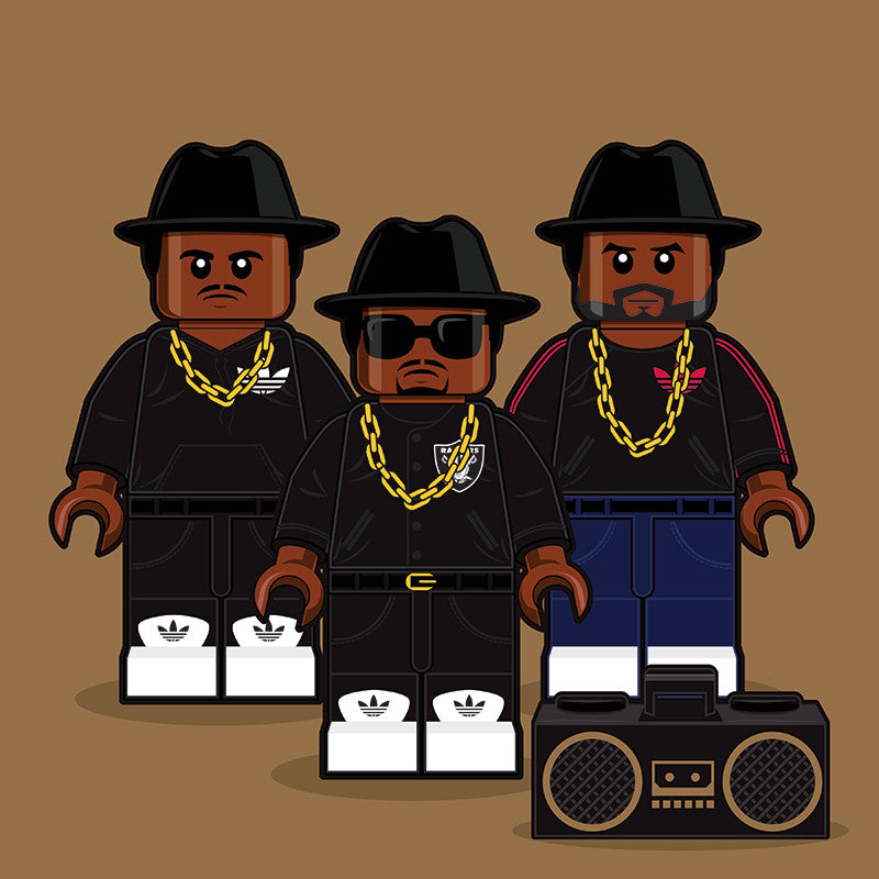 """LEGO Run-DMC"" by Dan Shearn - Hero Complex Gallery"