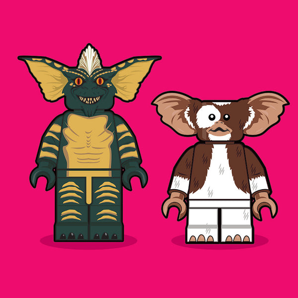 """LEGO Gremlins"" by Dan Shearn - Hero Complex Gallery"