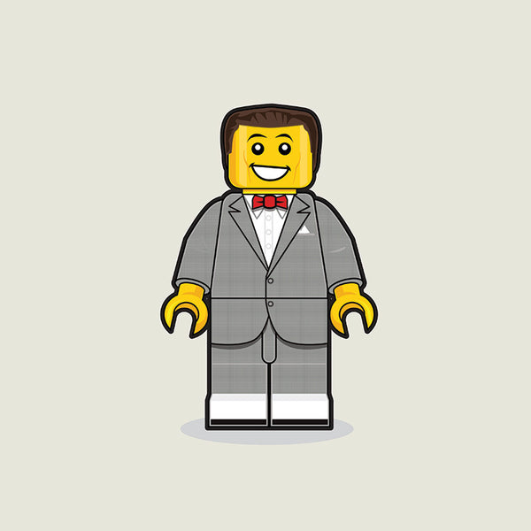 """LEGO Pee Wee"" by Dan Shearn - Hero Complex Gallery"