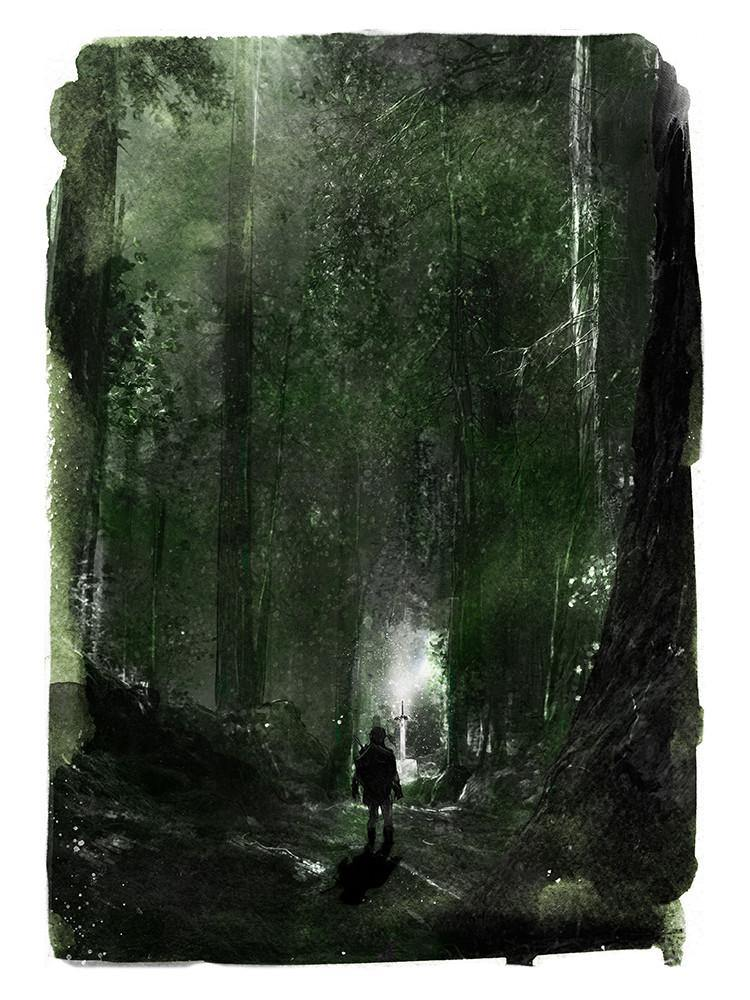 """Lost Woods"" by David Mahoney - Hero Complex Gallery"