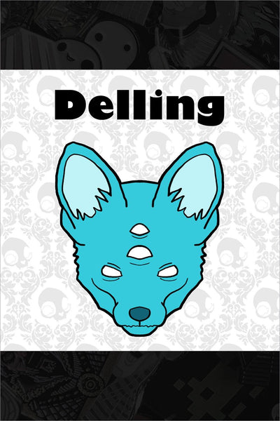 "700. ""Delling"" Pin by Megan Majewski"