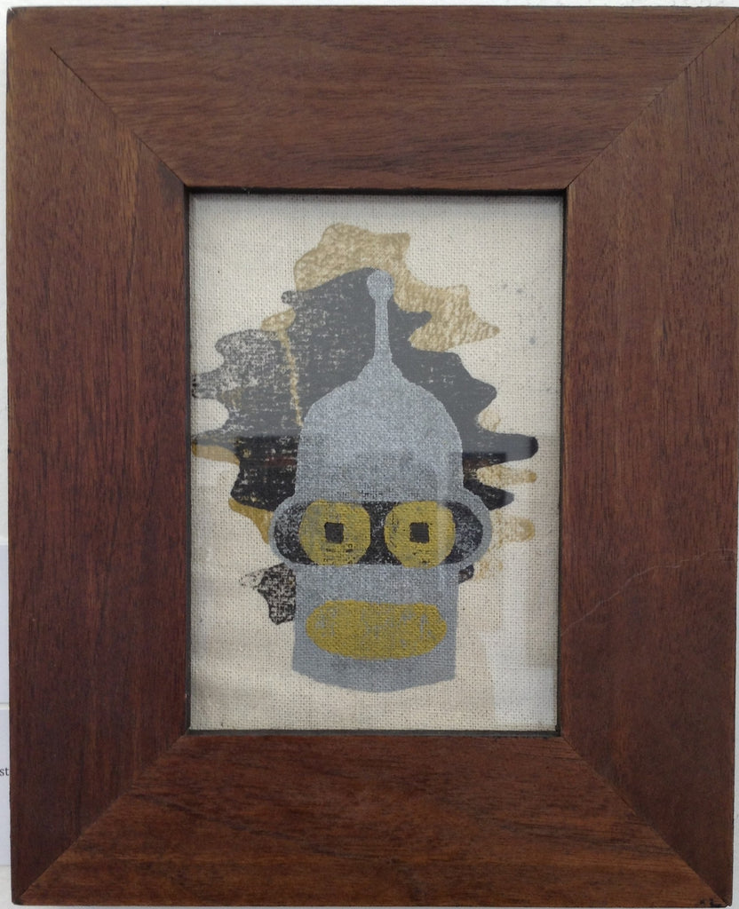 """Bender"" Gold Framed - by Derek Eads"