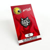 "014. ""Lit'l Devil"" GID Pin by Blank / Slate"