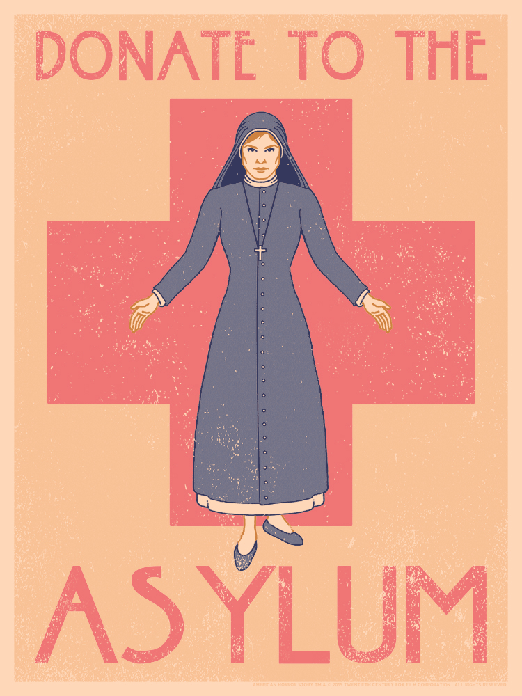 """DONATE TO THE ASYLUM"" by Drew Wise"