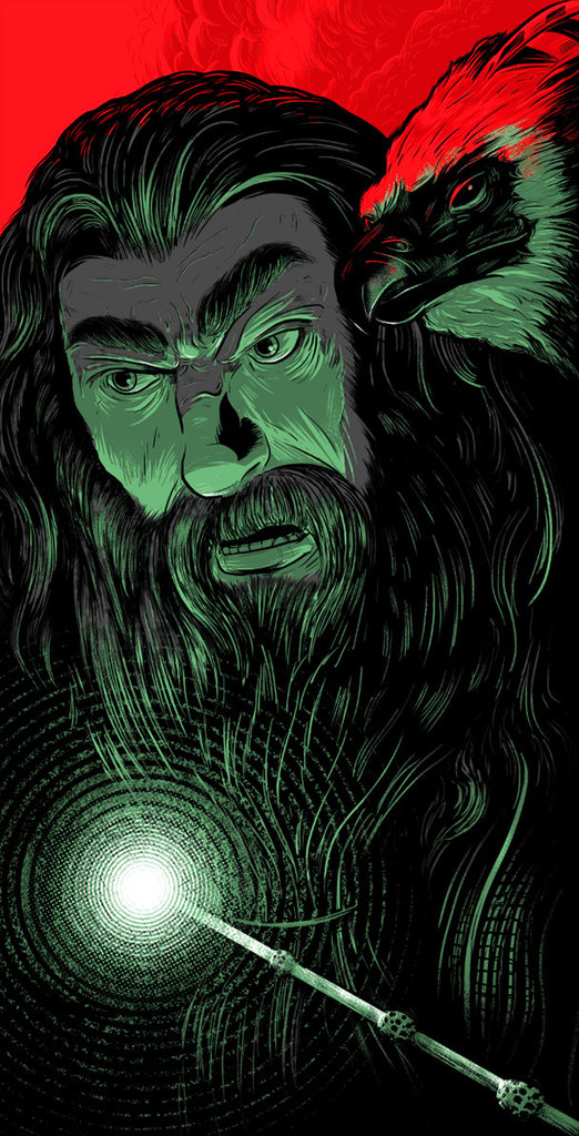 "Wizards of Light and Darkness: ""Dumbledore"" Variant - Single by Matthew Johnson $20.00 - Hero Complex Gallery"