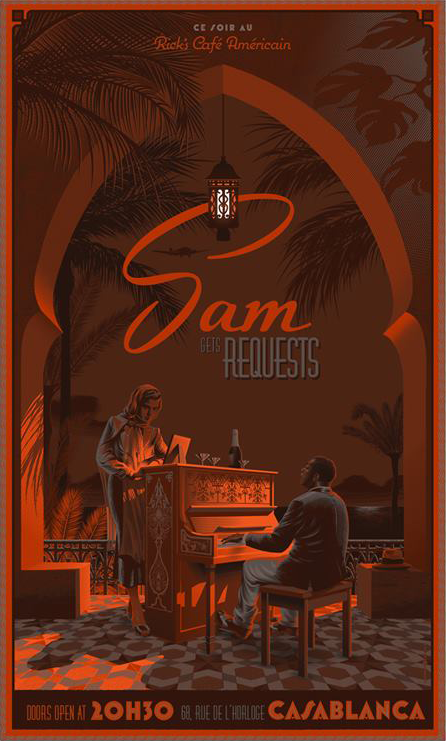 """Sam Gets Requests"" Variant by Laurent Durieux"