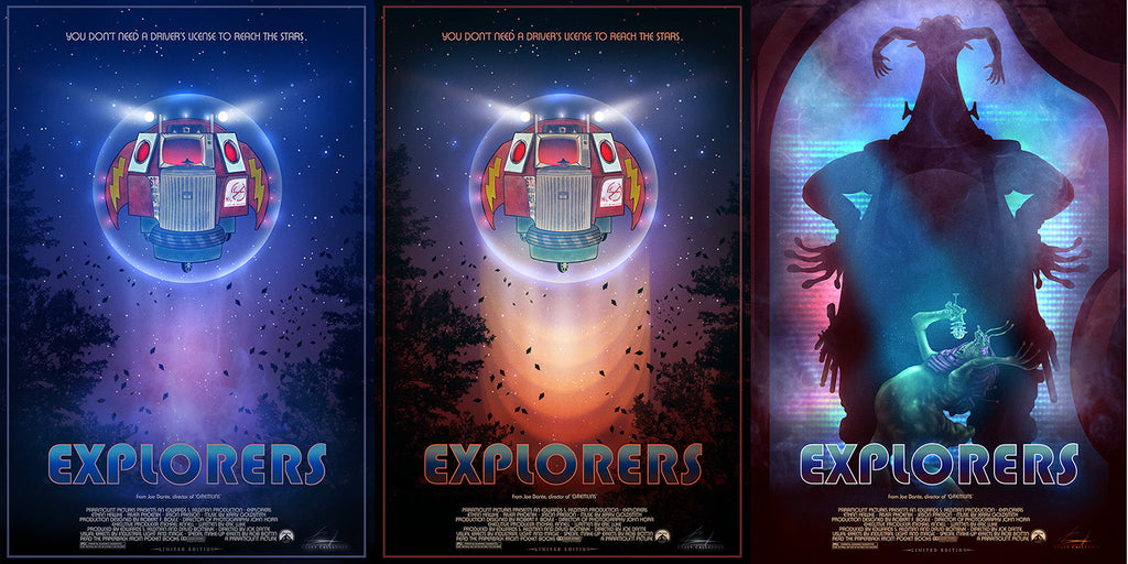"""Explorers - Three Print Collection Set"" by Casey Callender"