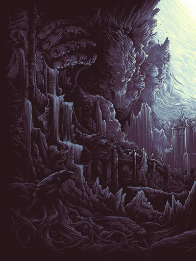 """The Earth Itself / Shall Rise From Below / And Tower Over All"" by Dan Mumford - Hero Complex Gallery  - 2"