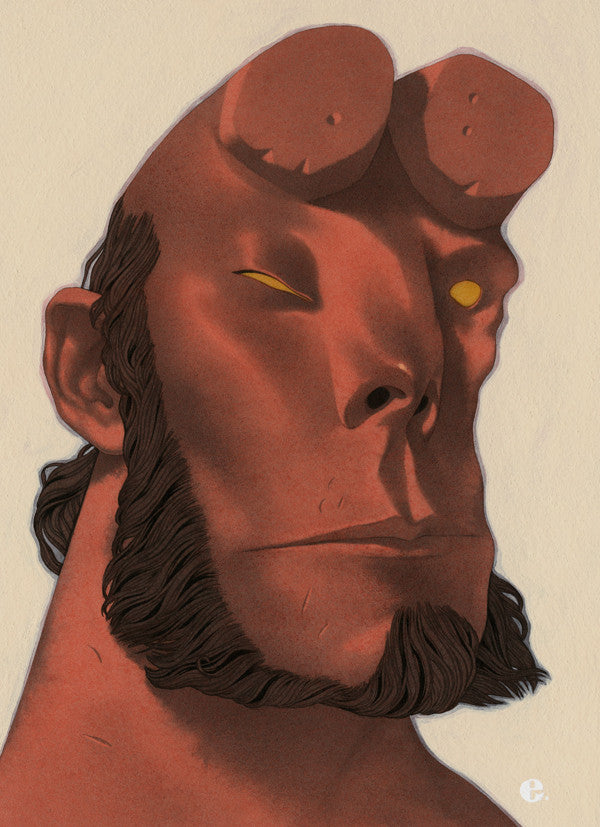 """Hellboy"" by Edward Kinsella $800.00 - SOLD OUT"