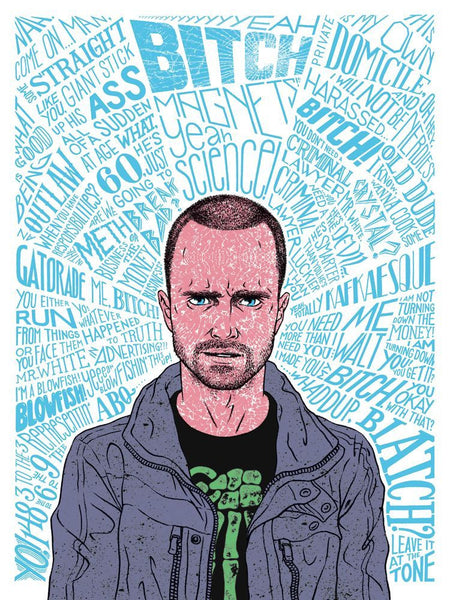 """Pinkman"" by Erin Gallagher - Hero Complex Gallery"