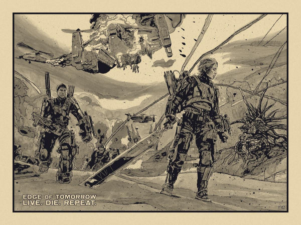 """Edge of Tomorrow"" Variant by New Flesh - Hero Complex Gallery"