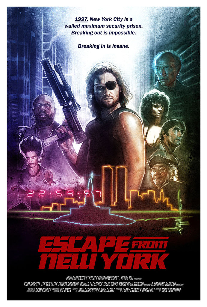 """Escape from New York"" Large by Paul Shipper - Hero Complex Gallery"