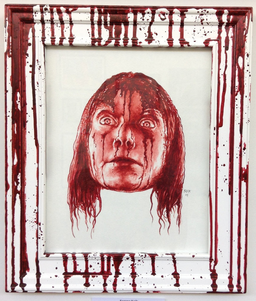 """Carrie White"" Original by Eugene Kaik"