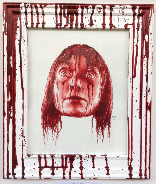 """Carrie White"" Original by Eugene Kaik - Hero Complex Gallery"