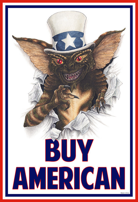 """Buy American"" by Eugene Kaik - Hero Complex Gallery"