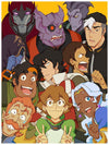 """Voltron Photobooth"" by Eugene Lee - Hero Complex Gallery"