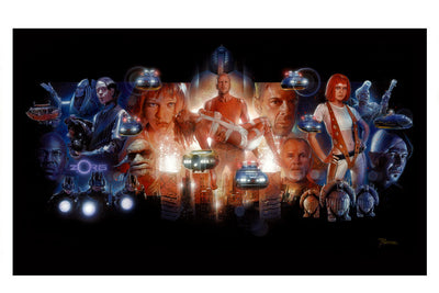 """Fifth Element"" by Nick Runge - Hero Complex Gallery  - 2"