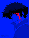 """Session 001: Spike Spiegel"" by Fabiocs"
