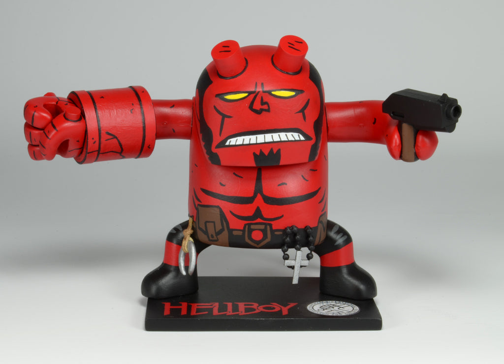 """Hellboy"" by Geoff Trapp $140.00 - SOLD OUT - Hero Complex Gallery  - 1"