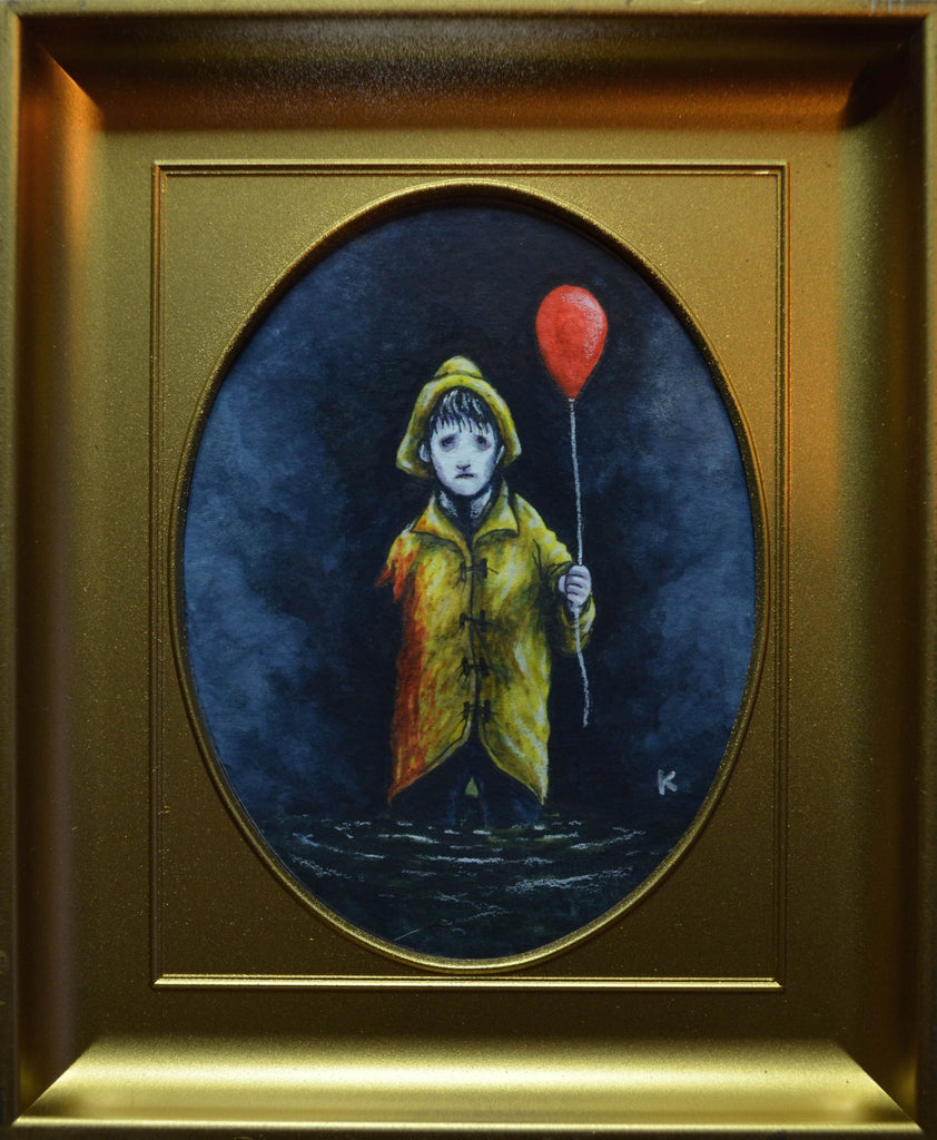 """Georgie Denbrough"" Original by Eugene Kaik - Hero Complex Gallery"