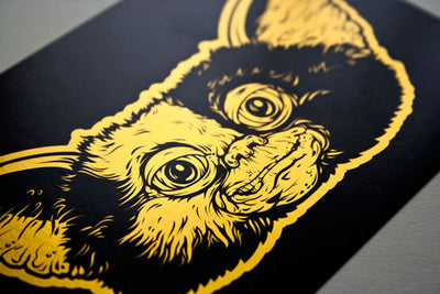 """Gizmo"" Card Gold Pack by Beery Method - Hero Complex Gallery  - 1"
