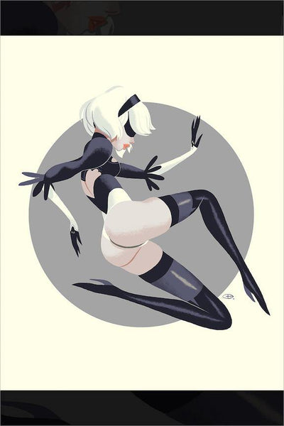 """2B"" by Glen Brogan"