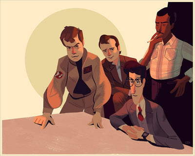 """Who ya gonna call?"" by Glen Brogan"