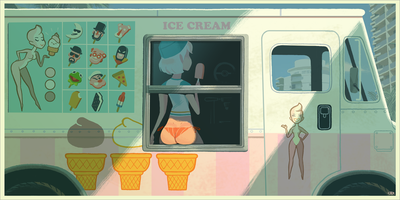 """Ice Cream"" by Glen Brogan"