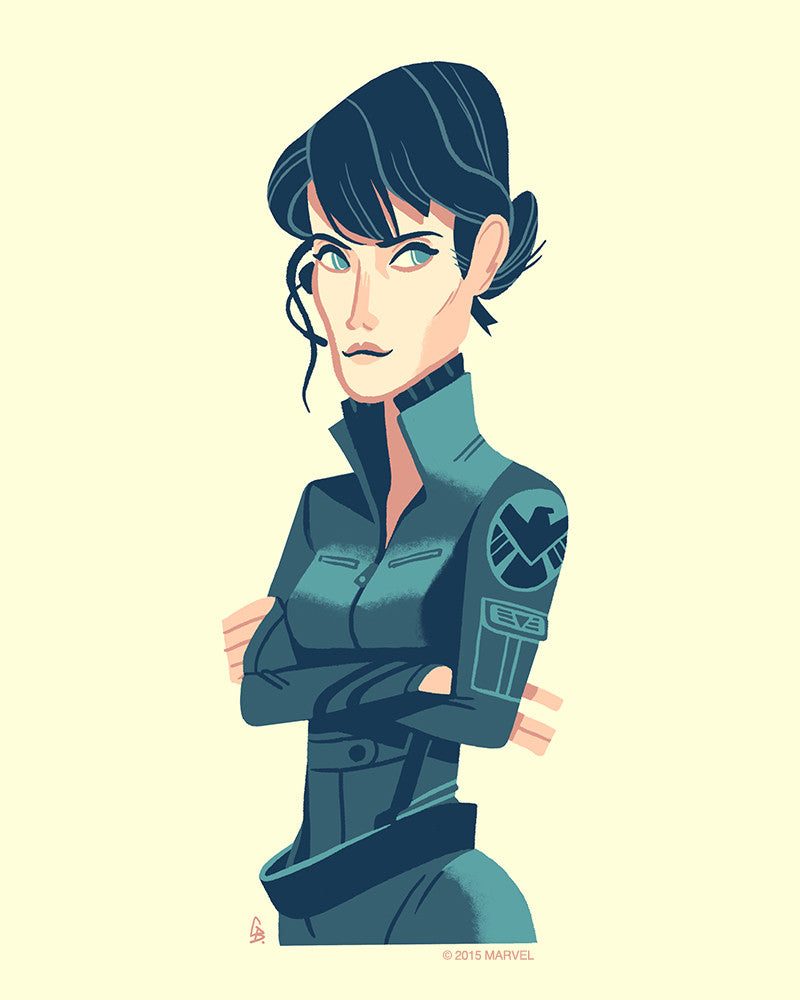 """Maria Hill"" by Glen Brogan - Hero Complex Gallery"