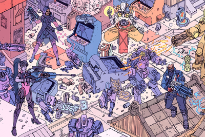 """Hanamura Showdown"" by Josan Gonzalez & Laurie Greasley"
