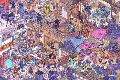 """Hanamura Showdown"" & ""The Raid"" Set by Josan Gonzalez & Laurie Greasley"