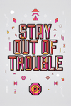 """Stay Out of Trouble"" by Middle Boop - Hero Complex Gallery"