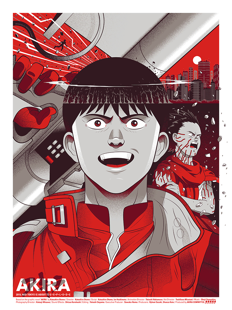 """Akira"" by Guillaume Morellec - Hero Complex Gallery"