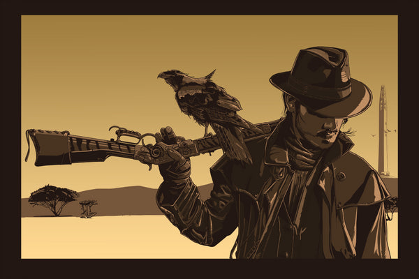 """GUNSLINGER"" by THE DARK INKER - Hero Complex Gallery  - 1"