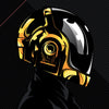 """Daftendirekt — Thomas and Guy Manuel"" (Daft Punk) by Salvador Anguiano - Hero Complex Gallery  - 2"