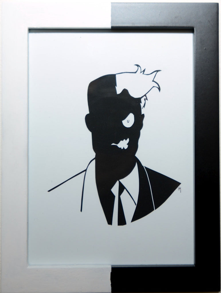 "9.  ""Two-Face"" by Jordan Monsell - Hero Complex Gallery"