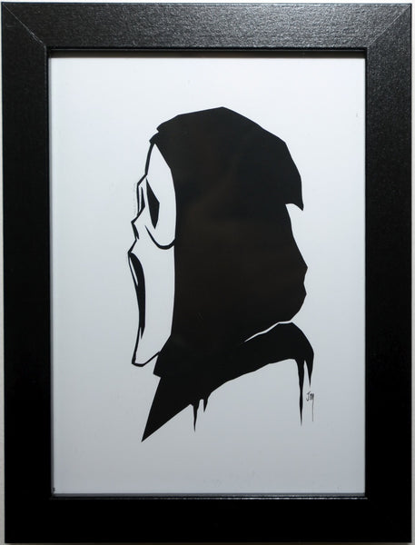"20.  ""Ghost Face (Scream)"" by Jordan Monsell - Hero Complex Gallery"