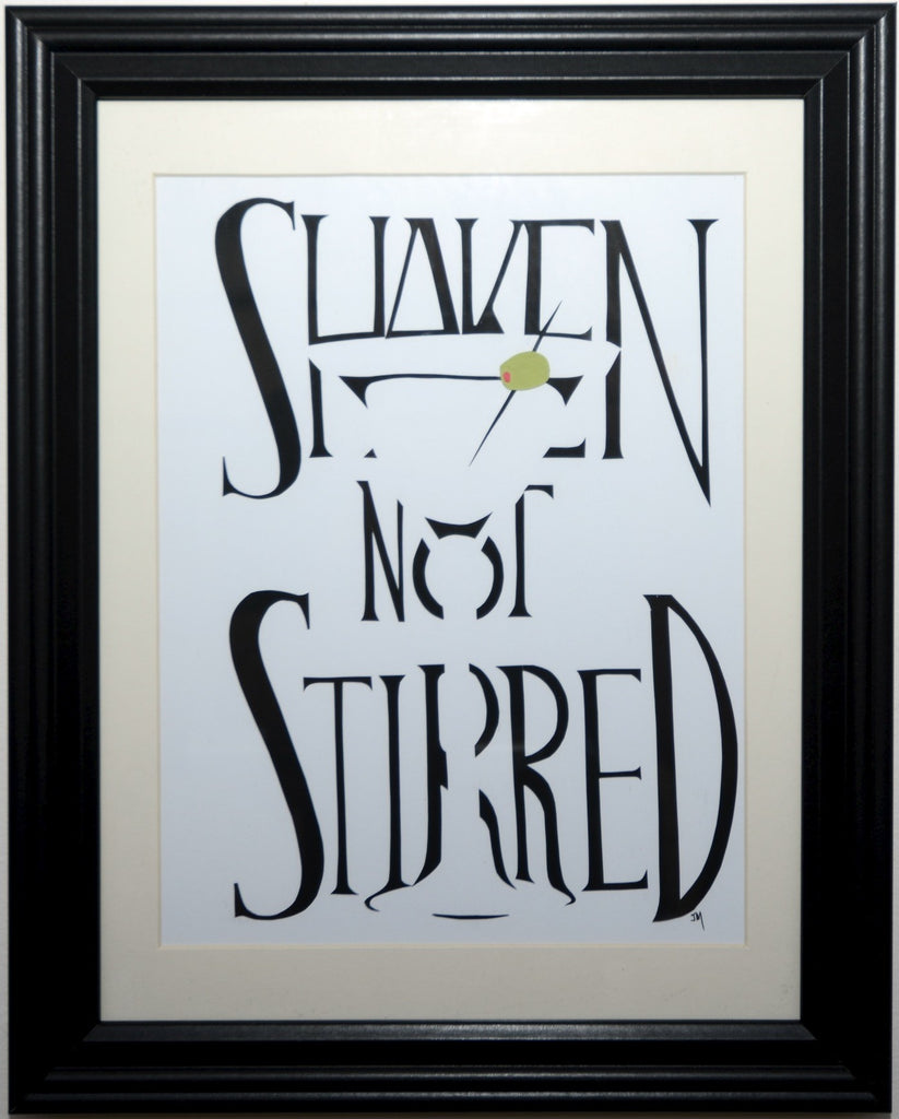 "48.  ""Shaken Not Stirred (James Bond)"" by Jordan Monsell - Hero Complex Gallery"