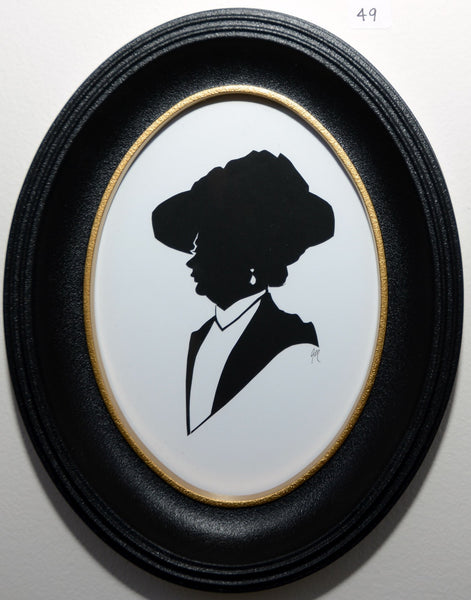 "49.  ""The Dowager Countess of Grantham (Dowton Abbey)"" by Jordan Monsell - Hero Complex Gallery"