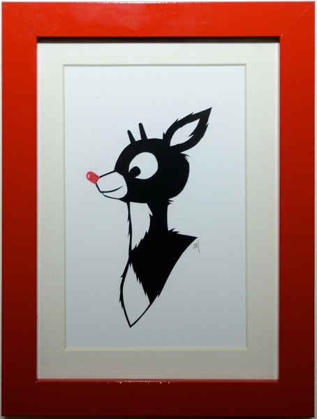 "114.  ""Rudolph"" by Jordan Monsell - Hero Complex Gallery"