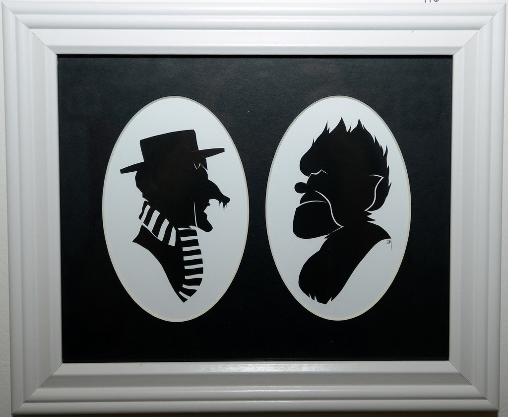 "116.  ""Heat Miser and Snow Miser"" by Jordan Monsell - Hero Complex Gallery"